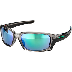 Oakley Straightlink Occhiali, grey ink/jade iridium
